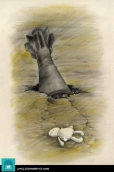 El silencio de los inocentes (Caricatura)
