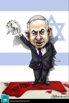 El tour de la paz (Caricatura)