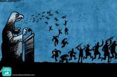 Caricatura - Criando o terror