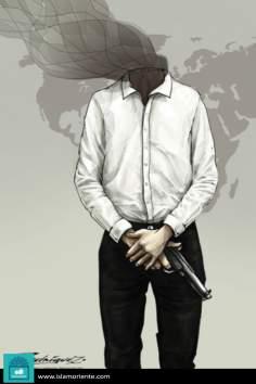 ideas por armas (Caricatura)