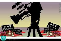 Caricatura - Imparcialidade midiática