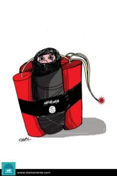 Voluntary immolation? (Caricature)