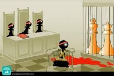 Jaque mate... (Caricatura)