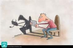 Juegos diabólicos (Caricatura)