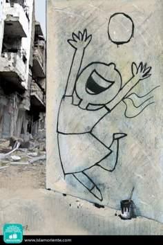 La alegría de vivir... (Caricatura)