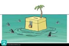 La isla de la fantasía (Caricatura)