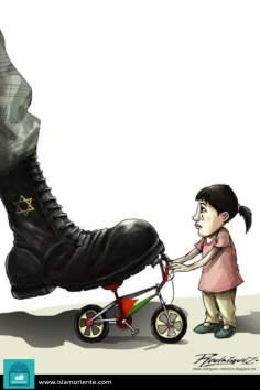La niñez arrebatada (Caricatura)
