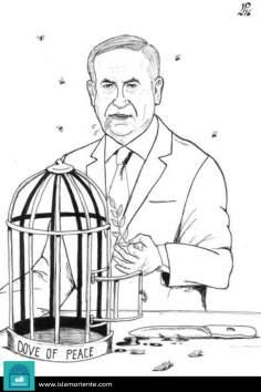 Caricatura - A paz devorada…