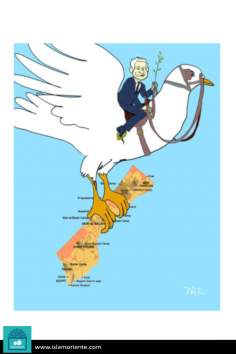 Forced peace (Caricature)