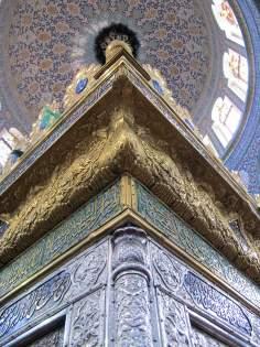 Vista do Santuário da Hasrat Zaynab, na cidade de Damasco, capital da Síria