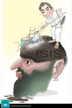Lavage du cerveau (Caricature)
