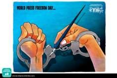 Caricatura - Liberdade midiática