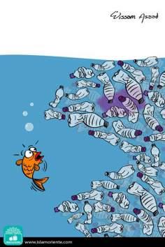 Una nuova specie marina - Caricatura