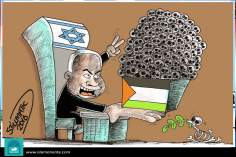 For the peace? (Caricature)