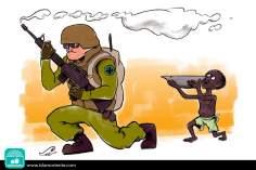 Caricatura - Sede de esperança