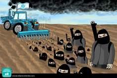 Terreno sionista (Caricatura)
