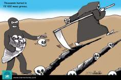 Sowing... (Caricature)