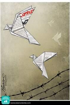 Verità repressa (Caricatura)