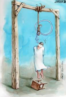 el pensamiento de la muerte (Caricatura)