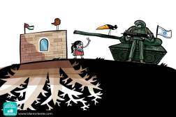 Resistencia Palestina (Caricatura)
