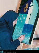 Pintura y Mujer en el Islam