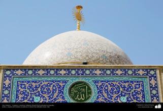 Arte islámico – Azulejos y mosaicos islámicos (Kashi Kari) realizados en paredes, techos y cúpulas del Instituto Académico Cultural Dar-alHadith, Qom, Irán - 68