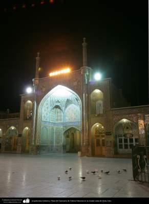 Arquitectura Islámica- Plaza del Santuario de Fátima Masuma en la ciudad santa de Qom (11)
