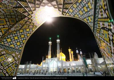 Arquitectura Islámica- Vista del santuario de Fátima Masuma en la ciudad santa de Qom - 88