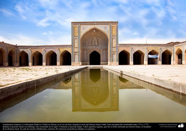 Arquitectura islámica- La Mezquita Wakil (o Vakil) en Shiraz, Irán, construida entre 1751 y 1773, durante el período Zand - 5