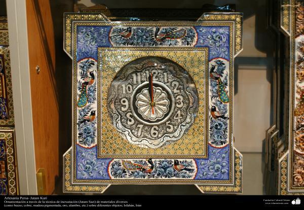 Artesanía Persa- Jatam Kari (Marquetería y Ornamentación de objetos) - 60