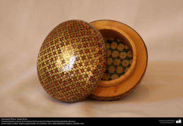 Artesanía Persa- Jatam Kari (Marquetería y Ornamentación de objetos) - 45