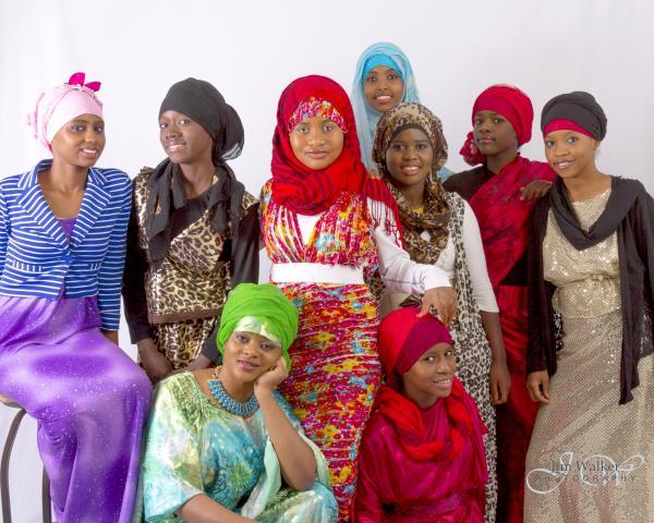 Jóvenes de naciones musulmanas de Africa