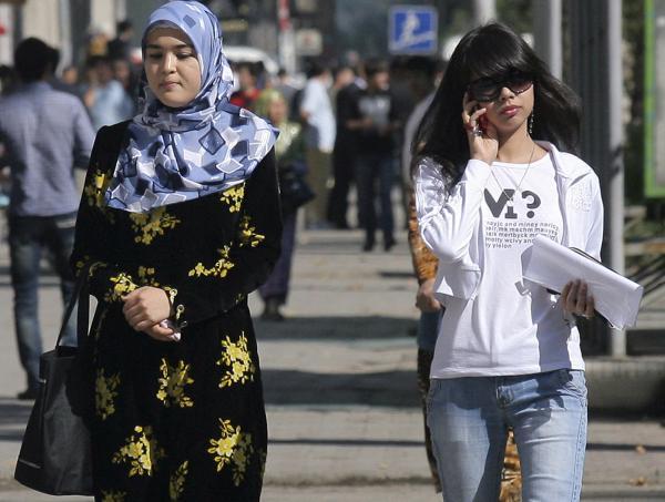 Mujer musulmana en Indodesia