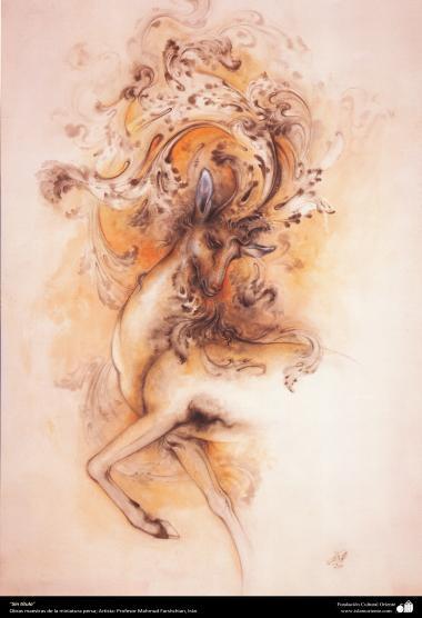 """""""Sin título"""" (2), Obras maestras de la miniatura persa; por Profesor Mahmud Farshchian"""