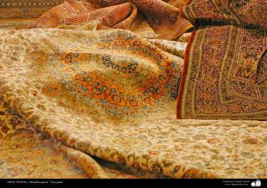 اسلامی فن - ہاتھ سے بنی ہوئی ایرانی قالین - ۱۰۵
