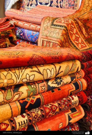 هنر اسلامی - صنایع دستی - هنر نساجی قالی - قالیچه فارسی - 102