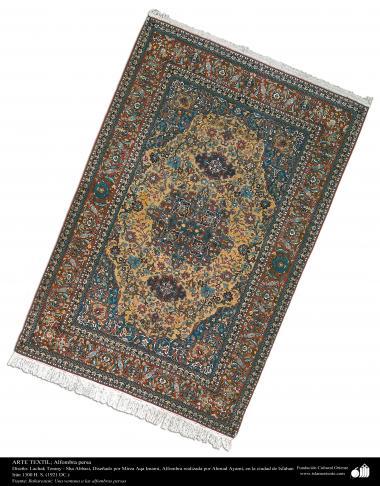 イスラム美術 -ペルシャの織り物 -カーペット -絨毯の芸術・工芸、1921年、イスファハン州 - 117
