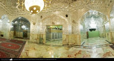 Islamic architecture - Hall of Mirrors and the tomb of the Shrine of Fatima Masuma in the holy city of Qom (125)
