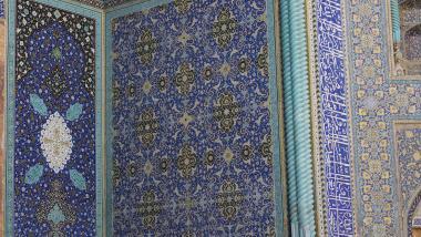 Arquitectura islámica- Vista interna de la cúpula de la mezquita Sheij Lotf Allah (o Lotfollah)-Isfahán- Irán (13)