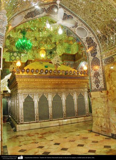 Arquitectura Islámica- Tumba de Fátima Masumah desde la sala de los espejos, ciudad santa de Qom - 120