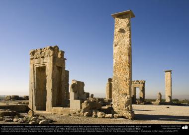 Arquitectura Preislámica - Persépolis, o Pars o Tajt-e Yamshid «el trono de Yamshid», cerca de Shiraz - 41