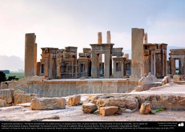 معماری قبل از اسلام - هنر ایرانی - شیراز، پرسپولیس - تخت جمشید - 1