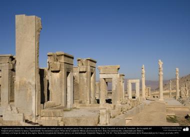 معماری قبل از اسلام - هنر ایرانی - شیراز، پرسپولیس - تخت جمشید - 39