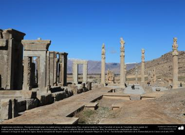 Preislamic Architecture - Persepolis,  Pars o Tajt-e Yamshid «the Throne of Yamshid», near Shiraz- 43