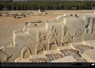 Vorislamische Architektur - Persepolis, oder Pars oder Tajt-e Jamshid «Der Thron von Yamshid», in der Nähe von Schiraz - 42 - Islamische Kunst - Vorislamisch-persische Architektur