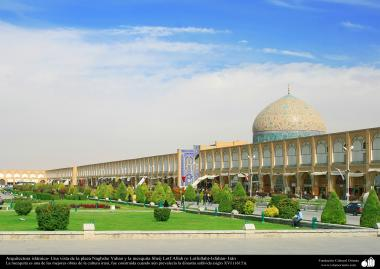 Исламская архитектура - Площадь Накш-э Джахан , одна из объектов всемирного наследия Юнеско в Иране - Исфахан - 16