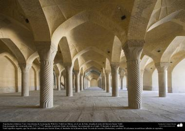 Islamic Arquitechture - Wakil Mosque in Shiraz, Iran, built between 1751 and 1773 during Zand period - 14