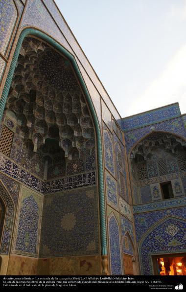 Arquitectura islámica- La mezquita Sheij  Lotf Allah (o Lotfollah)-Isfahán - 11