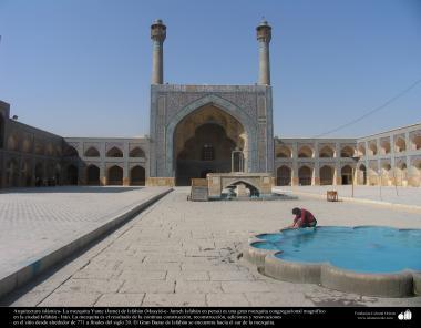 Arquitectura islámica- La mezquita Yame (Jame) de Isfahán-Irán. Construida y renovada desde 771 hasta el tiempo - 8