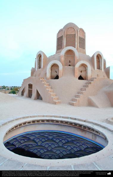 Islamische Architektur- Ein Blick auf die Türme der Winde-  Borujerdis, historisches Haus in Kashan - 206 - Aus anderen Städten Irans